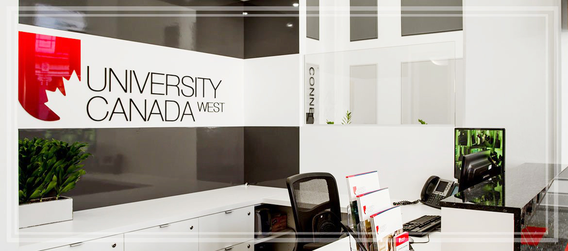 Image result for university canada west học